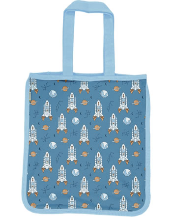 Meyadey Shopping Bag READY TO TAKE OFF blueC3466-M494 GOTS