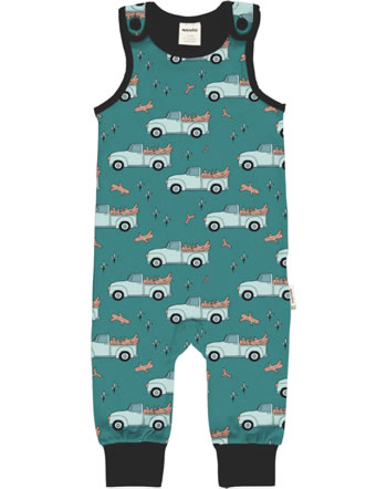 Meyadey Playsuit PICKING UP TREES green C3464-M475 GOTS