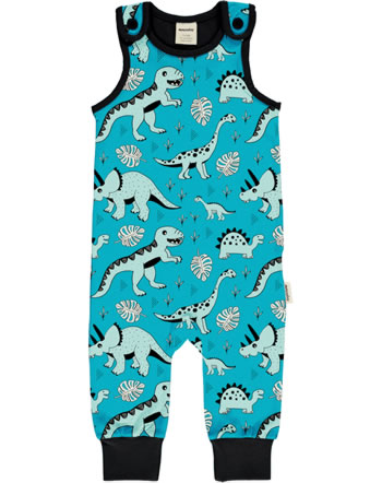 Meyadey Playsuit long DINO FOREST blue GOTS D3391-M475
