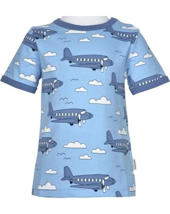 Meyadey T-shirt manches courtes AIROPLANE bleu C3510-M468 GOTS