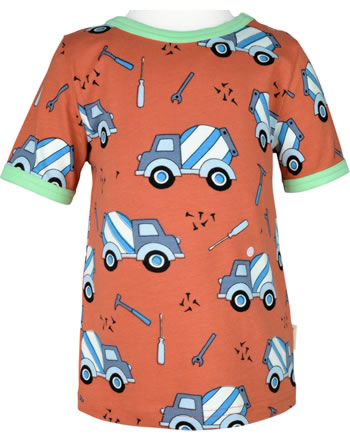 Meyadey T-Shirt shortsleeve CEMENT TRUCK orange C3507-M468 GOTS