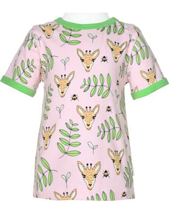 Meyadey T-Shirt Kurzarm GIRAFFE GARDEN rosa C3513-M468 GOTS