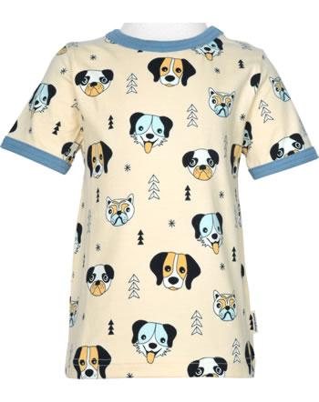 Meyadey T-shirt manches courtes HAPPY DOGS orange C3514-M468 GOTS