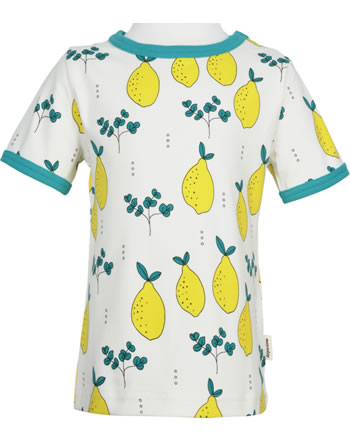 Meyadey T-Shirt shortsleeve LEAFY LEMON yellow GOTS D3396-M468