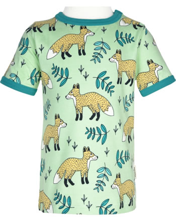 Meyadey T-Shirt shortsleeve WILD FOX green GOTS D3400-M468