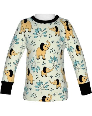 Meyadey T-Shirt Langarm ELEPHANT GARDEN beige C3458-M467 GOTS