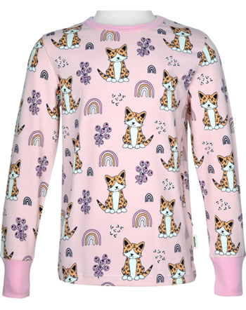 Meyadey T-Shirt long sleeve KITTY RAINBOW pink C3461-M467 GOTS