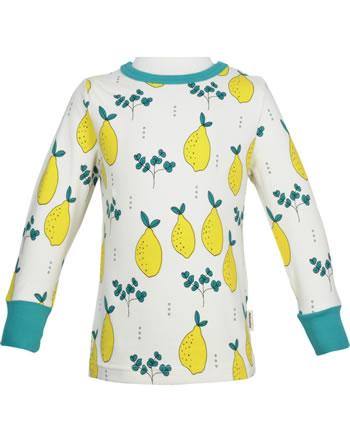 Meyadey T-shirt manches longues LEAFY LEMON gelb GOTS D3396-M467
