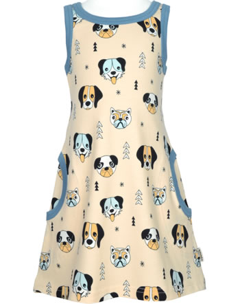 Meyadey Robe à bretelles HAPPY DOGS orange C3510-M540 GOTS