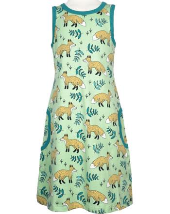 Meyadey Träger-Kleid WILD FOX grün GOTS D3401-M540