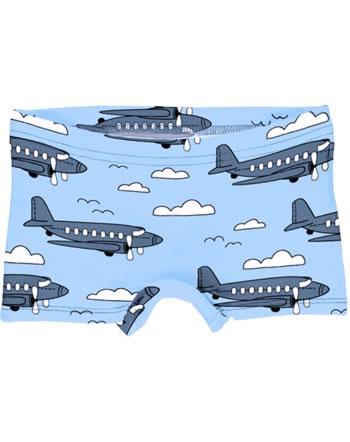 Meyadey Slips Boxer Panty AIROPLANE bleu C3510-M513 GOTS