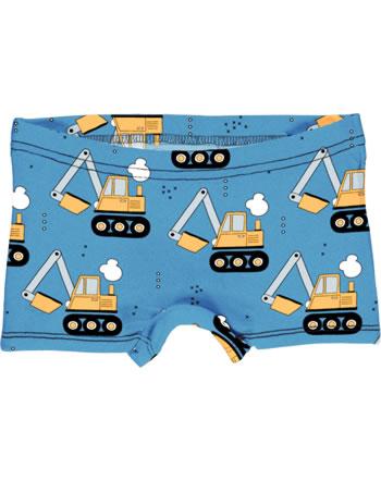 Meyadey Unterhose Boxer Panty EXCAVATOR RIDE blau C3459-M513 GOTS