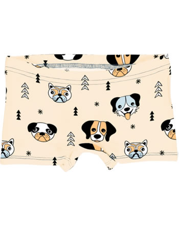 Meyadey Slips Boxer Panty HAPPY DOGS orange C3514-M513 GOTS