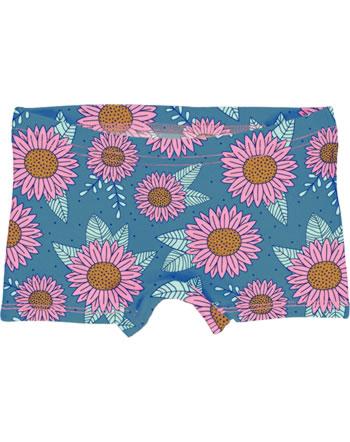 Meyadey Unterhose Boxer Panty SUNFLOWER DREAMS blau YA15-14A GOTS