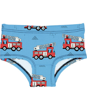 Meyadey Briefs Hipster FIRE TRUCKS blue GOTS D3394-M487