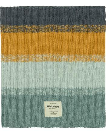 Mini A Ture Schal Merino Wolle GOI ombre blue 1203024052-582