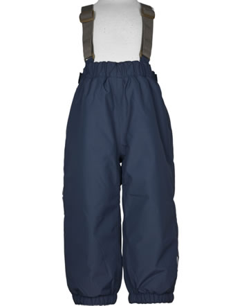 Mini A Ture Snow pants removable straps WILAS blue nights 1203129700-595