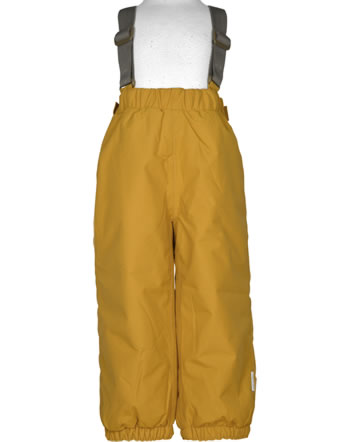 Mini A Ture Snow pants removable straps WILAS buckthorn brown 1203129700-124