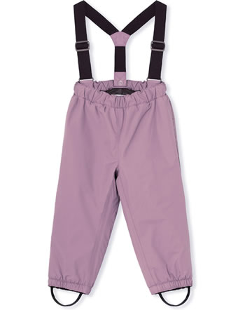 Mini A Ture Schneehose abnehmbare Träger WILAS wood rose 1213095700-3380