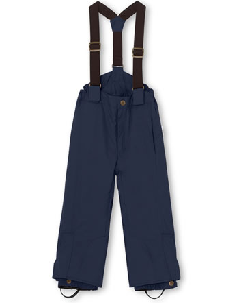 Mini A Ture Schneehose abnehmbare Träger WITTE blue nights 1213128700-5950