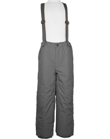 Mini A Ture Snow pants removable straps WITTE dark shadow 1203127700-960