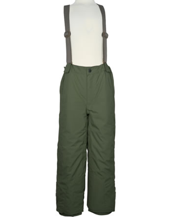 Mini A Ture Snow pants removable straps WITTE forest night 1203127700-797