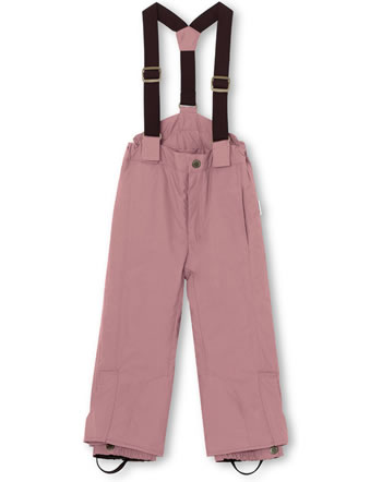 Mini A Ture Schneehose abnehmbare Träger WITTE wood rose 1213128700-3380