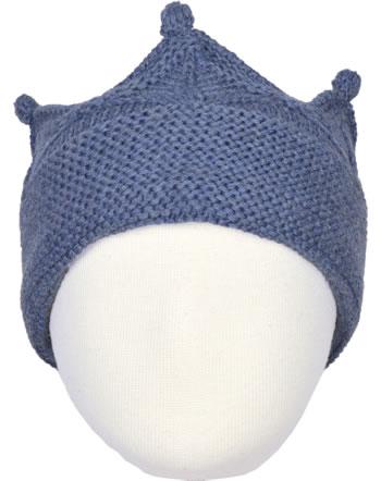 Mini A Ture Stirnband Merinowolle Krone CINNI citadel blue 1213085053-5222