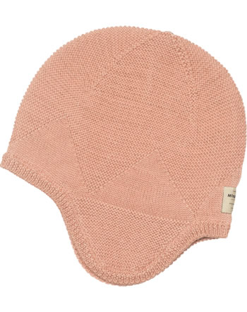 Mini A Ture Knitted hat Merino wool GUI cameo rose brown 1203017052-391