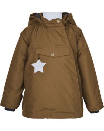 Mini A Ture Winter-Jacke m. Kapuze Thermolite® WANG rubber brown 1213100700-1640