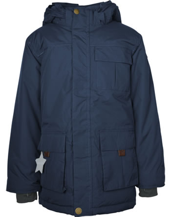 Mini A Ture Winter-Jacke Mantel Thermolite® KASTOR blue nights 1213115700-5950