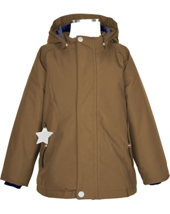 Mini A Ture Winter-Jacke Thermolite® WALLY rubber brown 1213097700-1640