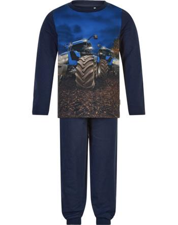 Minymo Pyjama BLAUER TRAKTOR navy night 5960-7361