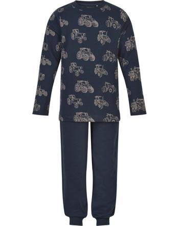 Minymo Pyjama TRAKTOR navy night 5966-7361