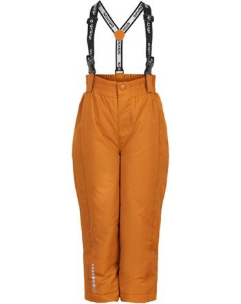 Minymo Snow pants TUSSOR solid pumpkin spice 160497-3032