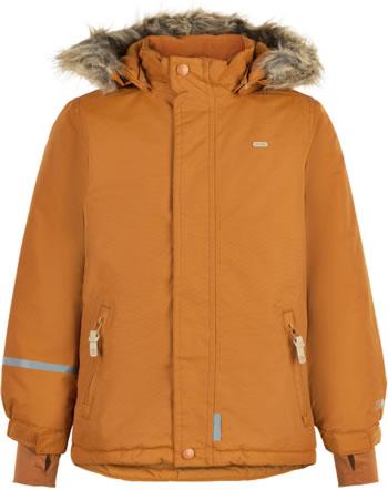 Minymo Schnee-Jacke mit Kapuze TUSSOR solid pumpkin spice 160495-3032