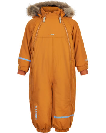 Minymo Snowsuit TUSSOR solid pumpkin spice 160499-3032