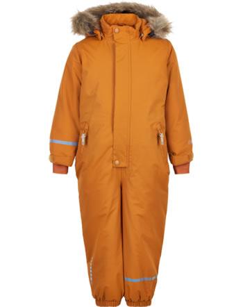 Minymo Snowsuit TUSSOR solid pumpkin spice 160500-3032