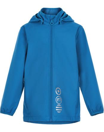 Minymo Softshell jacket with hood BASIC SOLID dark blue 5565-7700