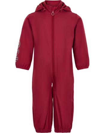 Minymo Softshell suit BASIC SOLID deep claret 5567-5666