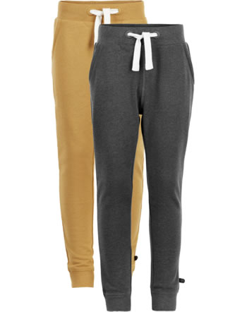 Minymo Sweat pants 2-pack BASIC 36 narcissus 3936-385