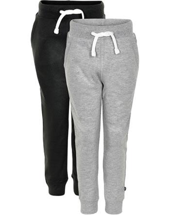 Minymo Sweat pants Set of 2 BASIC 36 gris 3936-193