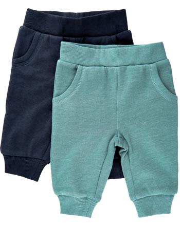 Minymo Sweat pants Set of 2 BASIC goblin blue 5760-928