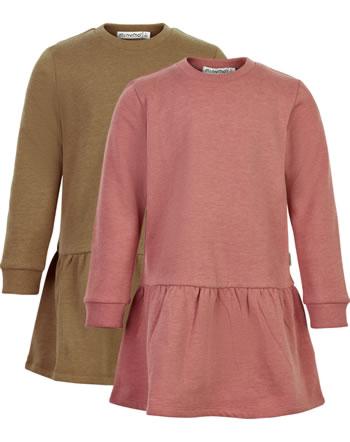 Minymo Sweat Dress Set of 2 BASIC canyon rose 5750-411