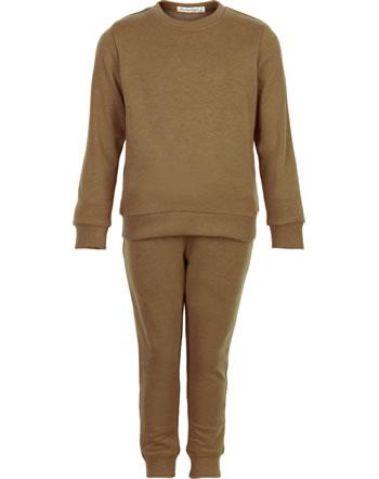 Minymo Sweat-Set Pullover und Jogginghose BASIC chipmunk 5751-208