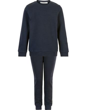 Minymo Sweat-Set of 2 sweaters and pants BASIC dark navy 5751-778