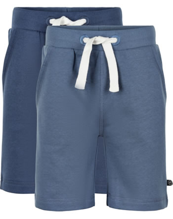 Minymo Sweat shorts 2-pack BASIC 53 new navy 5553-713