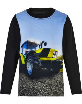 Minymo T-Shirt Langarm GELBER TRAKTOR tap shoe 5948-1061