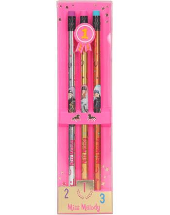 Miss Melody pencil set 3 pieces