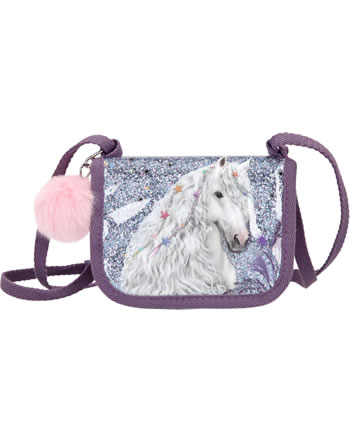 Miss Melody neck pouch deam horse